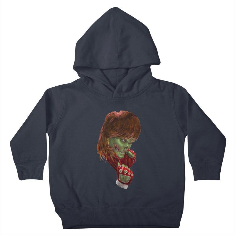 Didn't Die in '85 (eighties zombie) Kids Toddler Pullover Hoody by Ayota Illustration Shop