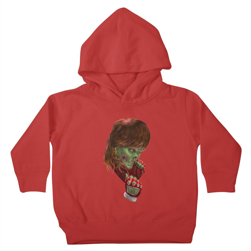 Didn't Die in '85 (eighties zombie) Kids Toddler Pullover Hoody by Ayota Illustration Shop