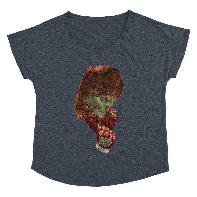Didn't Die in '85 (eighties zombie) Women's Dolman by Ayota Illustration Shop