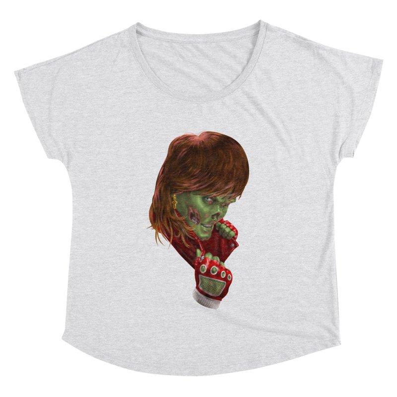 Didn't Die in '85 (eighties zombie) Women's Dolman Scoop Neck by Ayota Illustration Shop