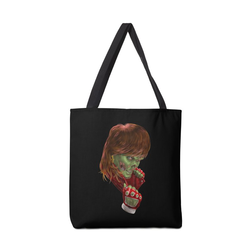 Didn't Die in '85 (eighties zombie) Accessories Bag by Ayota Illustration Shop