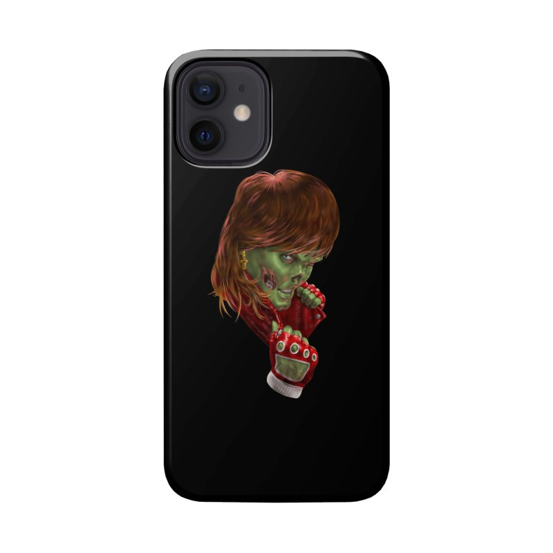 Didn't Die in '85 (eighties zombie) Accessories Phone Case by Ayota Illustration Shop