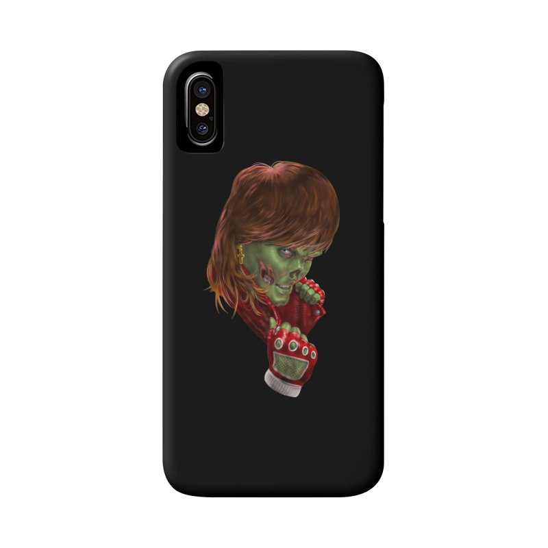 Didn't Die in '85 (eighties zombie) Accessories Phone Case by Ayota Illustration Shop