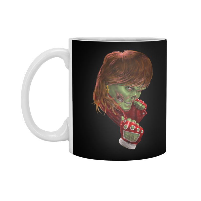 Didn't Die in '85 (eighties zombie) Accessories Standard Mug by Ayota Illustration Shop