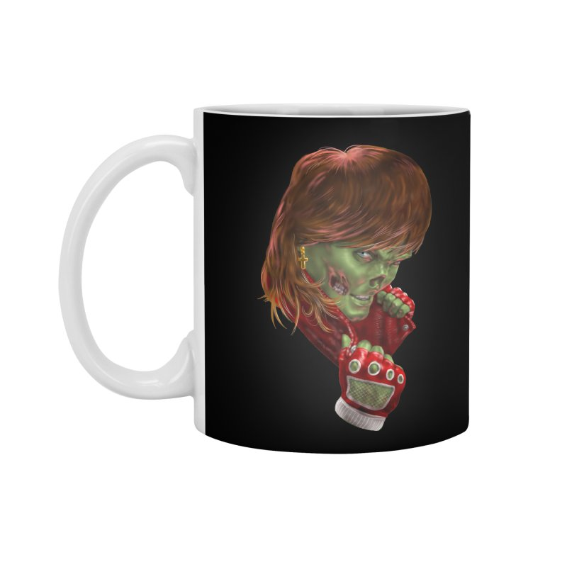 Didn't Die in '85 (eighties zombie) Accessories Mug by Ayota Illustration Shop