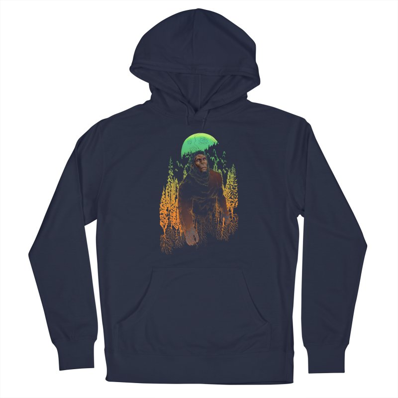 Sasquatch Men's Pullover Hoody by Ayota Illustration Shop