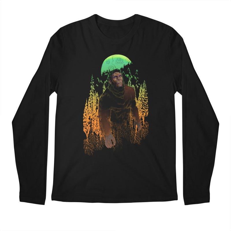 Sasquatch Men's Longsleeve T-Shirt by Ayota Illustration Shop