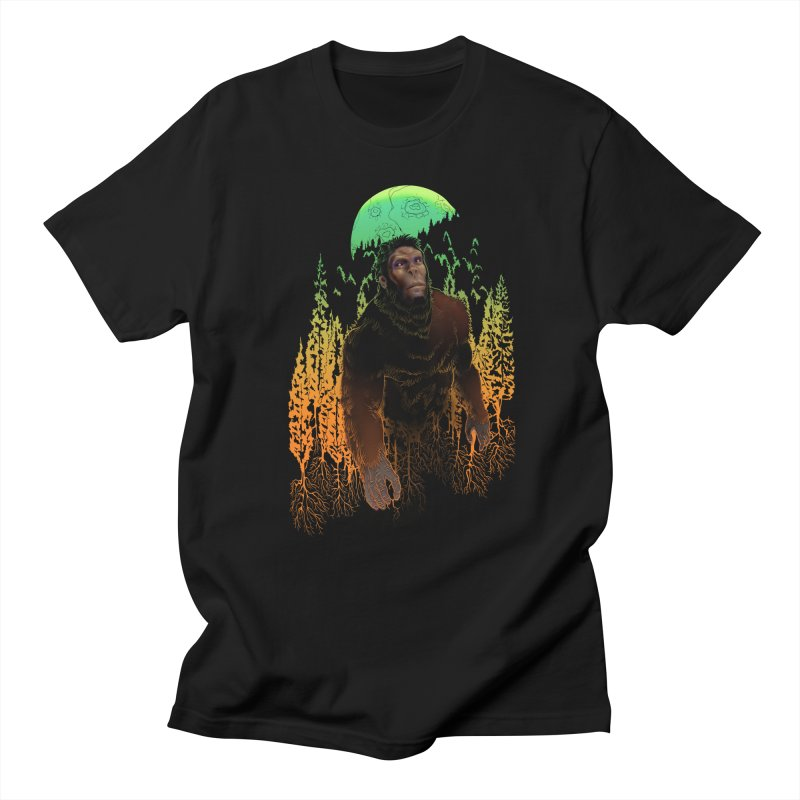 Sasquatch Men's T-Shirt by Ayota Illustration Shop