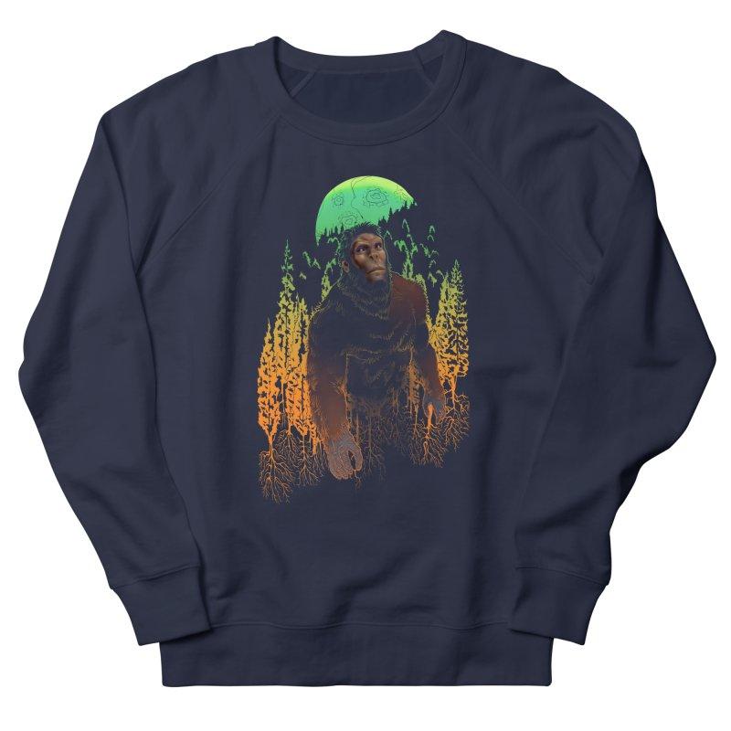 Sasquatch Men's Sweatshirt by Ayota Illustration Shop