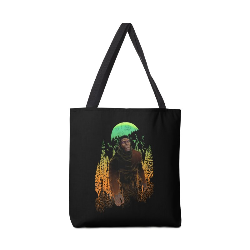 Sasquatch Accessories Bag by Ayota Illustration Shop
