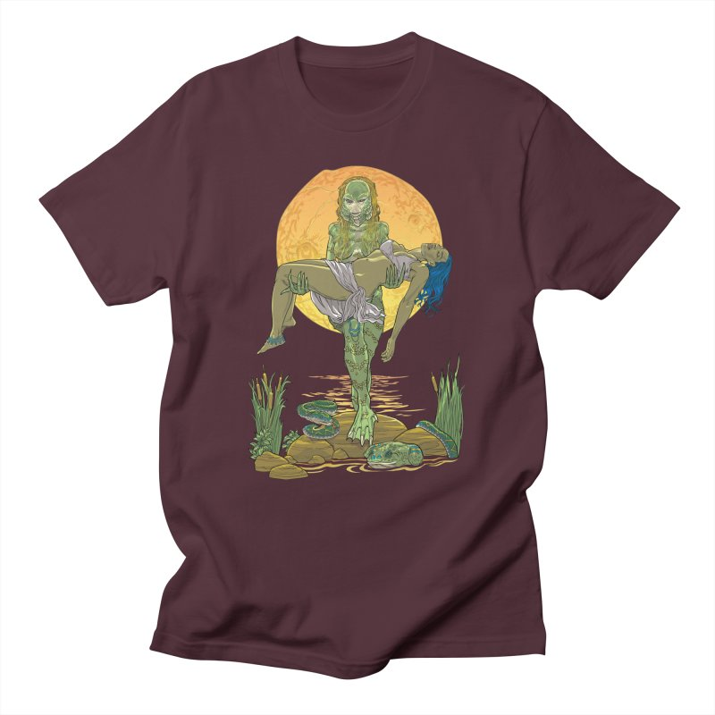 Female Creature from the Black Lagoon Men's T-Shirt by Ayota Illustration Shop