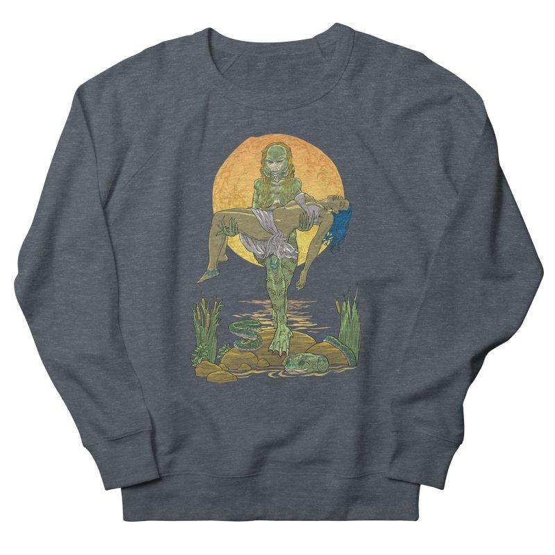 Female Creature from the Black Lagoon Men's Sweatshirt by Ayota Illustration Shop