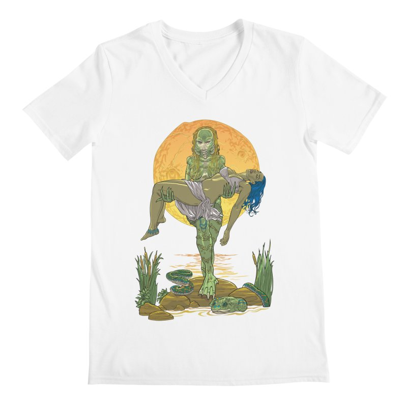 Female Creature from the Black Lagoon Men's V-Neck by Ayota Illustration Shop