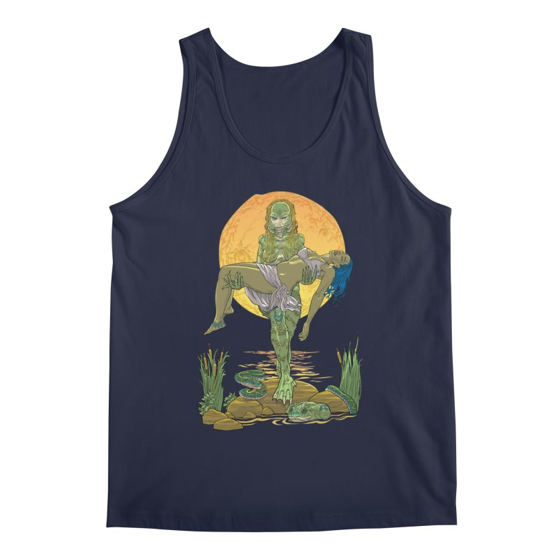Female Creature from the Black Lagoon Men's Tank by Ayota Illustration Shop
