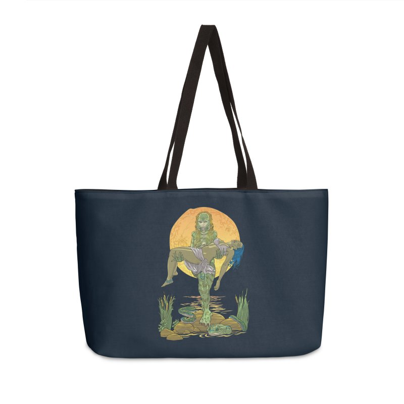 Female Creature from the Black Lagoon Accessories Bag by Ayota Illustration Shop