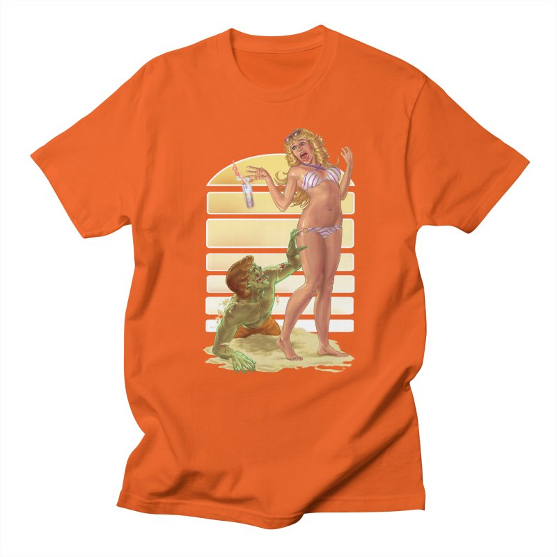 Beach Zombie Men's T-Shirt by Ayota Illustration Shop