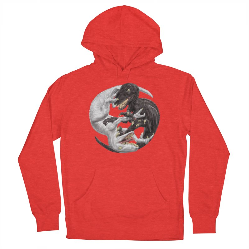 Yin Yang Raptors Women's Pullover Hoody by Ayota Illustration Shop