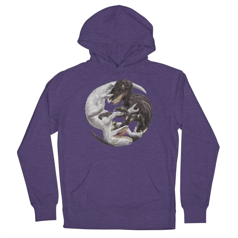 Yin Yang Raptors Women's Pullover Hoody by Ayota Illustration Shop