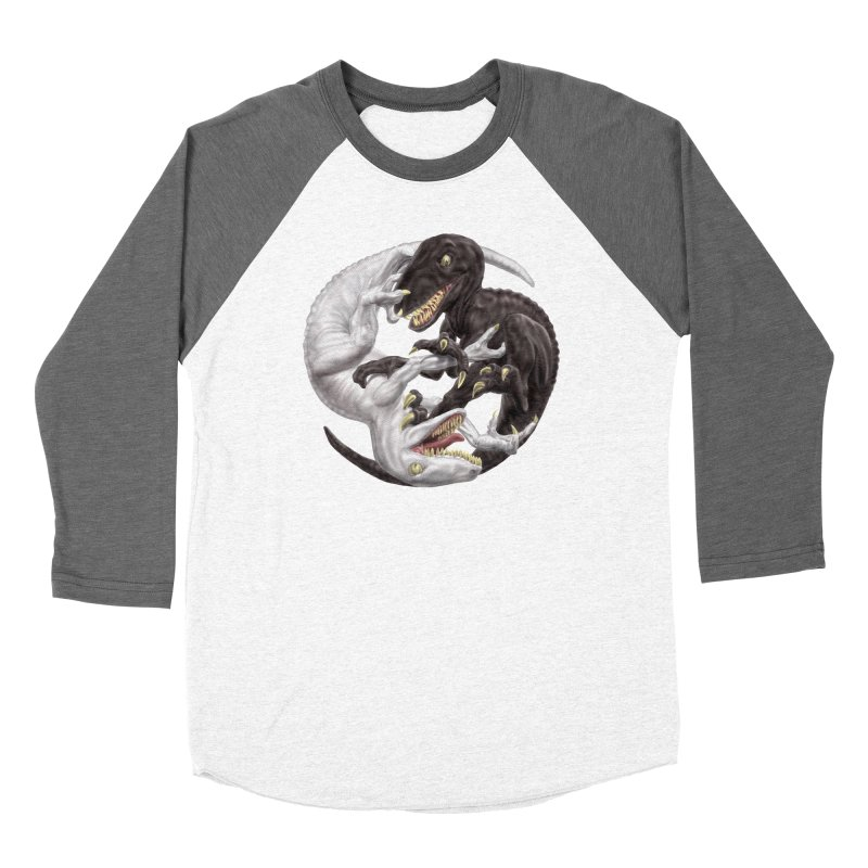 Yin Yang Raptors Women's Longsleeve T-Shirt by Ayota Illustration Shop