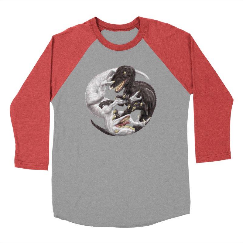 Yin Yang Raptors Women's Longsleeve T-Shirt by Ayota Illustration Shop