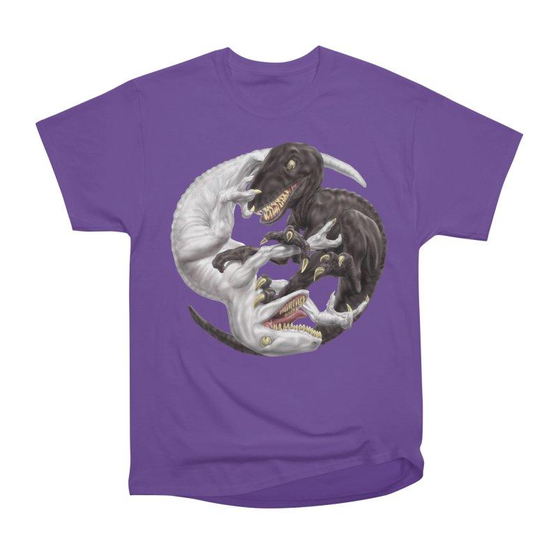 Yin Yang Raptors Men's Classic T-Shirt by Ayota Illustration Shop