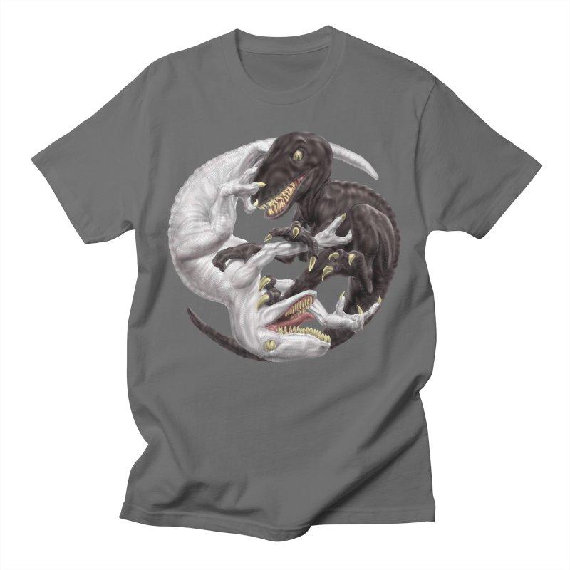 Yin Yang Raptors Men's T-Shirt by Ayota Illustration Shop