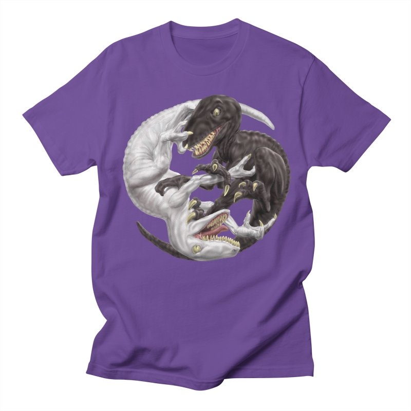 Yin Yang Raptors Women's Regular Unisex T-Shirt by Ayota Illustration Shop