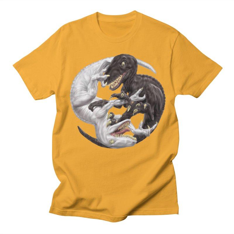 Yin Yang Raptors Women's Regular Unisex T-Shirt by Ayota Illustration Shop
