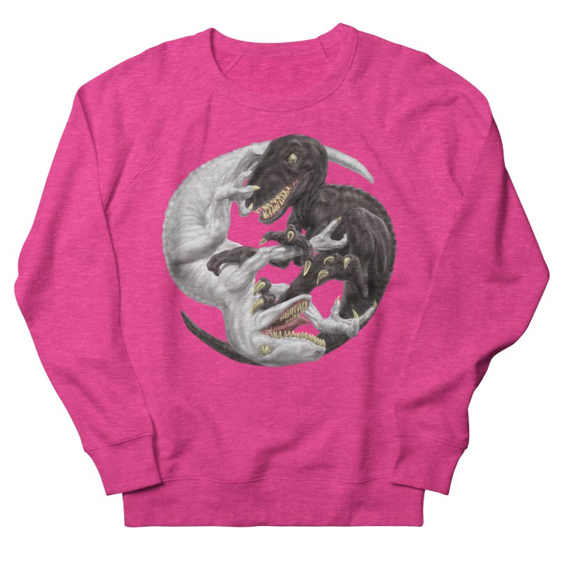 Yin Yang Raptors Women's Sweatshirt by Ayota Illustration Shop