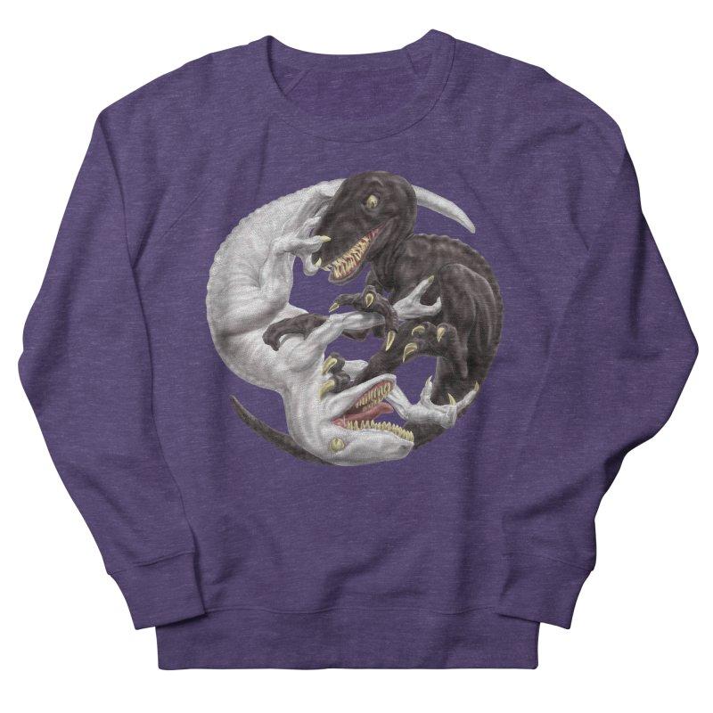 Yin Yang Raptors Men's Sweatshirt by Ayota Illustration Shop