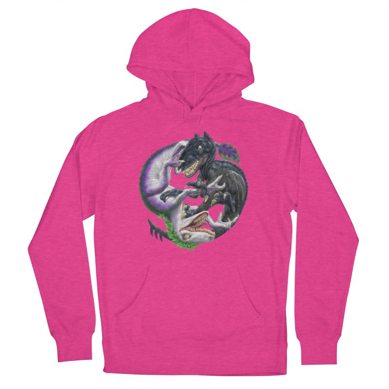 Darklaw vs the Laughing Lizard Women's Pullover Hoody by Ayota Illustration Shop