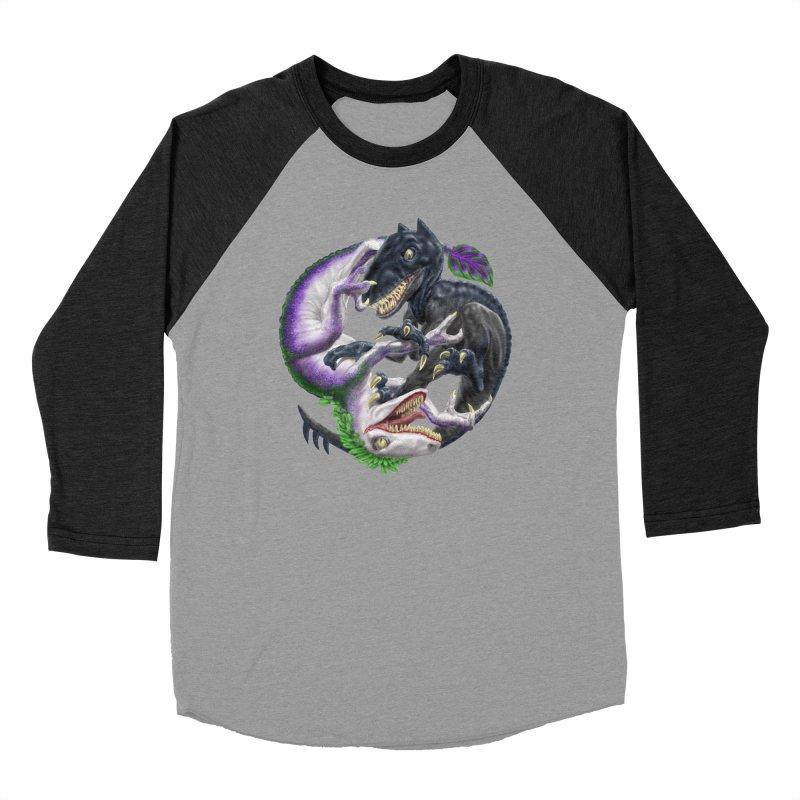 Darklaw vs the Laughing Lizard Women's Longsleeve T-Shirt by Ayota Illustration Shop