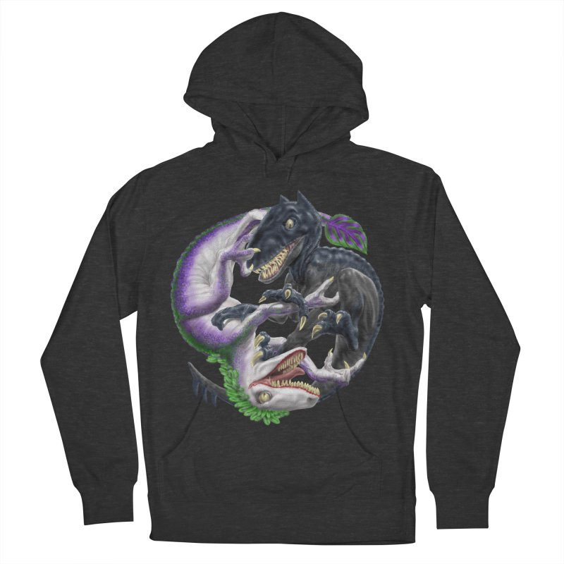 Darklaw vs the Laughing Lizard Women's French Terry Pullover Hoody by Ayota Illustration Shop