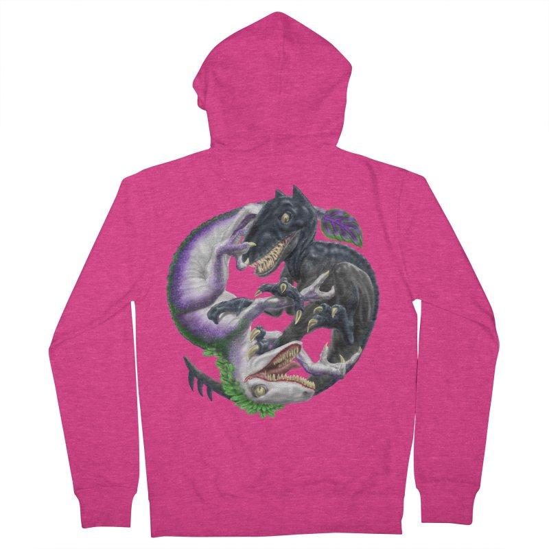 Darklaw vs the Laughing Lizard Women's Zip-Up Hoody by Ayota Illustration Shop
