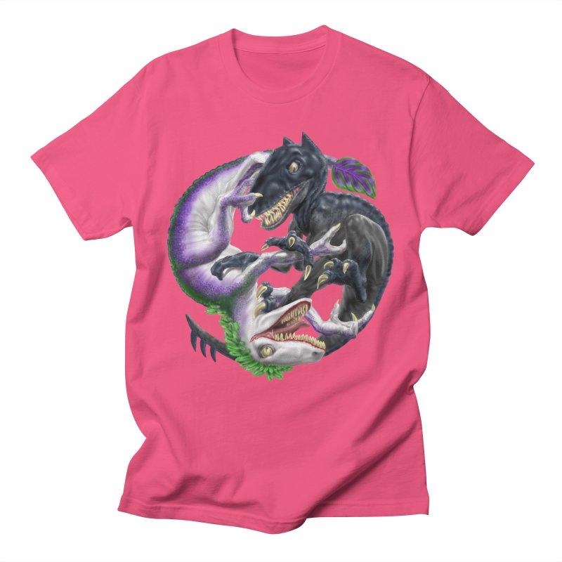 Darklaw vs the Laughing Lizard Women's Unisex T-Shirt by Ayota Illustration Shop