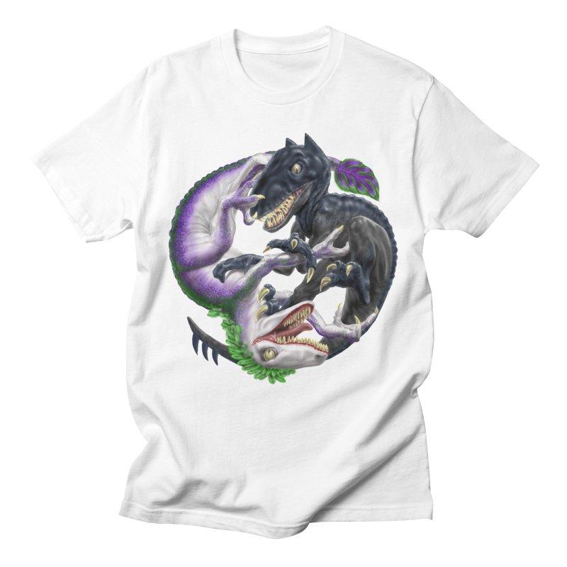 Darklaw vs the Laughing Lizard Women's Regular Unisex T-Shirt by Ayota Illustration Shop