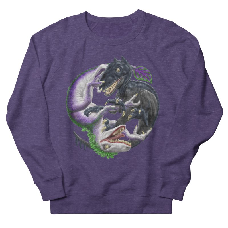 Darklaw vs the Laughing Lizard Women's French Terry Sweatshirt by Ayota Illustration Shop