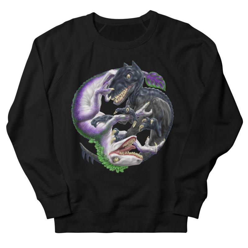Darklaw vs the Laughing Lizard Women's Sweatshirt by Ayota Illustration Shop