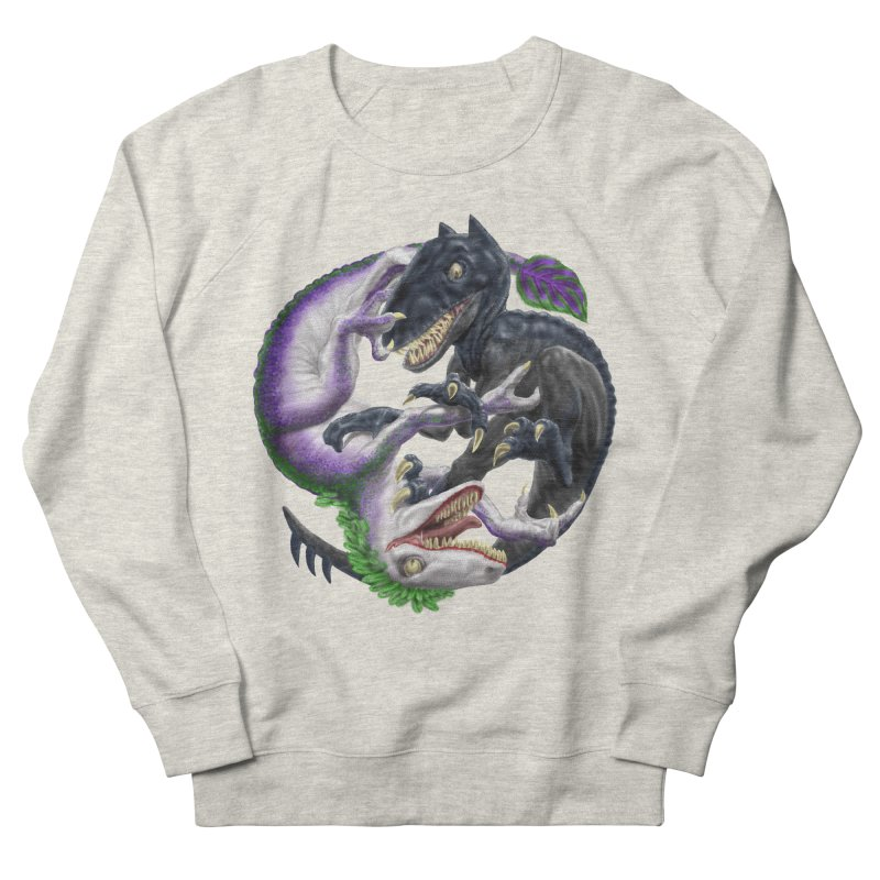Darklaw vs the Laughing Lizard Women's Sweatshirt by Ayota Illustration Shop