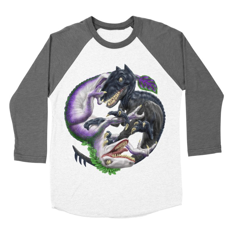 Darklaw vs the Laughing Lizard Women's Longsleeve T-Shirt by Ayota Illustration Shop