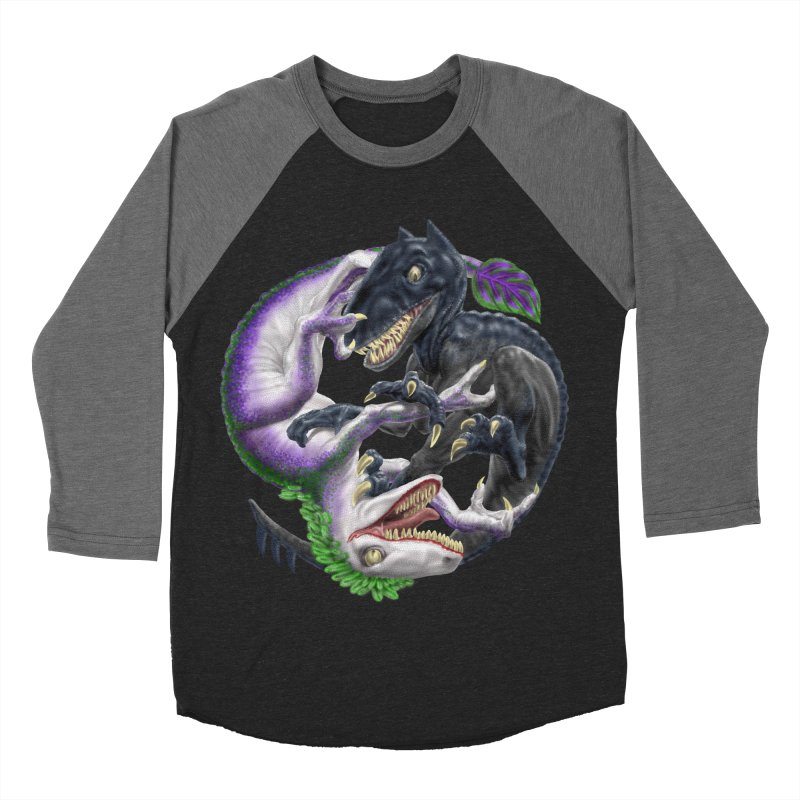 Darklaw vs the Laughing Lizard Women's Baseball Triblend T-Shirt by Ayota Illustration Shop