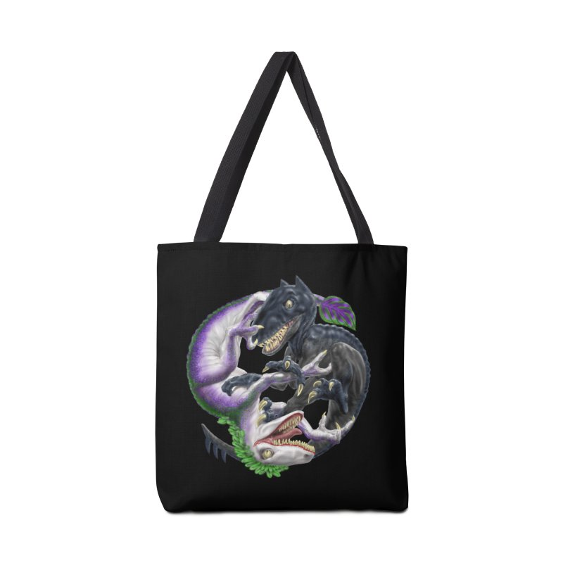 Darklaw vs the Laughing Lizard Accessories Tote Bag Bag by Ayota Illustration Shop