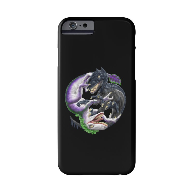 Darklaw vs the Laughing Lizard Accessories Phone Case by Ayota Illustration Shop