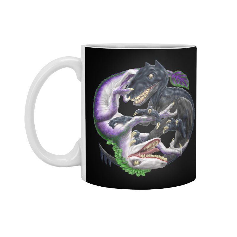 Darklaw vs the Laughing Lizard Accessories Standard Mug by Ayota Illustration Shop