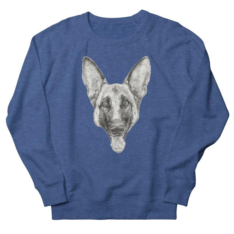 Cleo, the German Shepherd Men's Sweatshirt by Ayota Illustration Shop