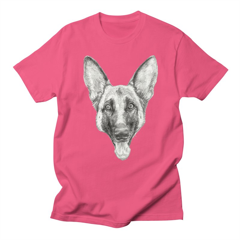 Cleo, the German Shepherd Women's Unisex T-Shirt by Ayota Illustration Shop