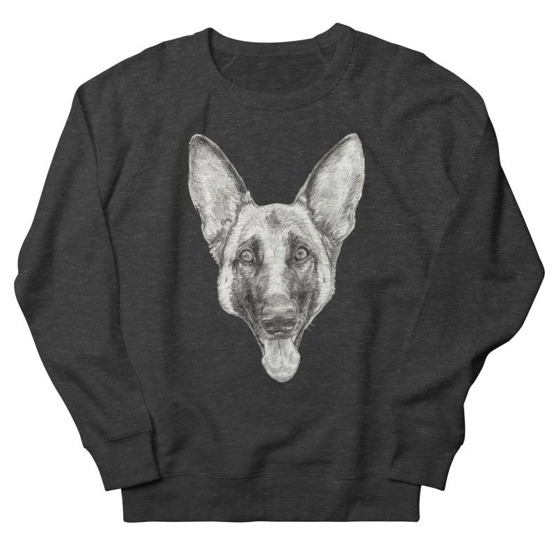 Cleo, the German Shepherd Women's Sweatshirt by Ayota Illustration Shop