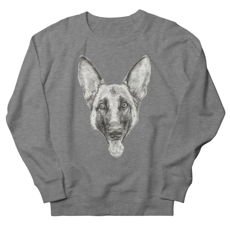 Cleo, the German Shepherd Women's Sweatshirt by Ayota Illustration Shop