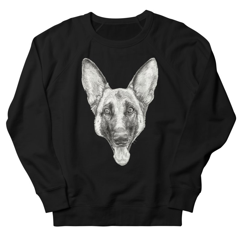 Cleo, the German Shepherd Men's Sweatshirt by Ayota Illustration Shop