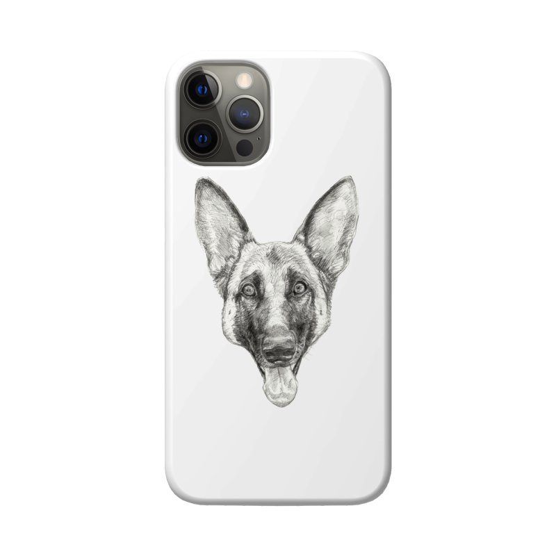 Cleo, the German Shepherd Accessories Phone Case by Ayota Illustration Shop